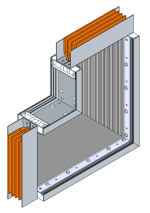 TMS TYPE BUS DUCT IN METAL ENCLOSURE